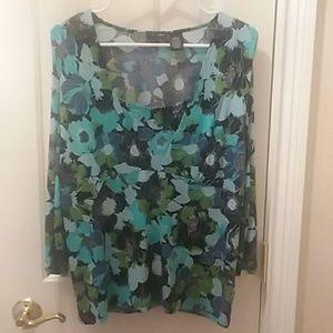 East 5th blouse sz L